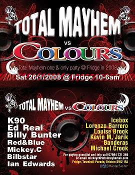 Total Mayhem vs Colours